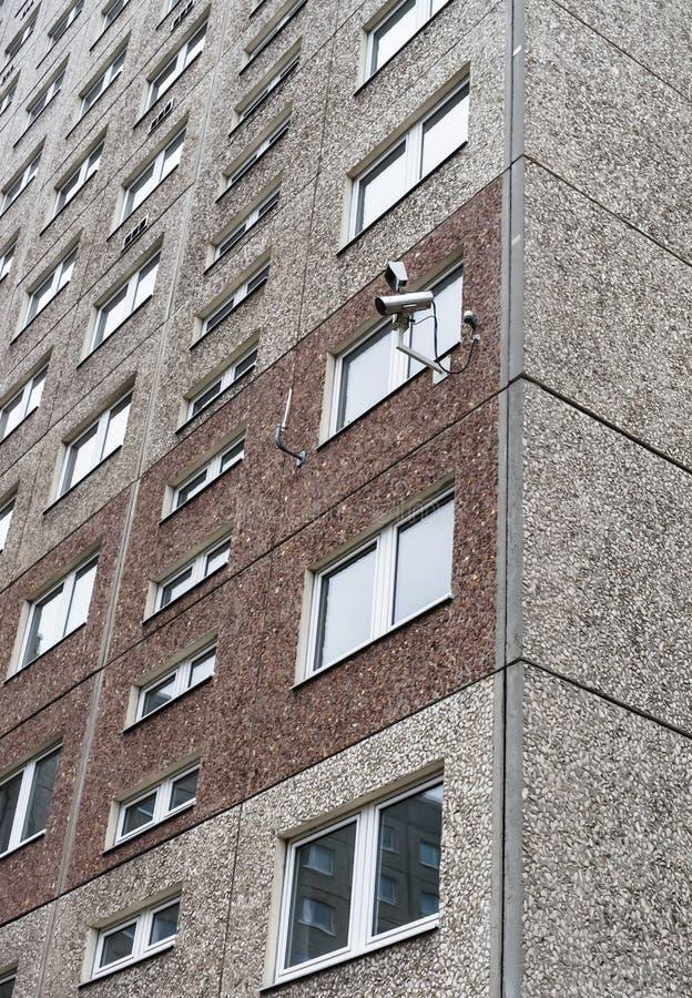 Κάμερα ασφαλείας στο μουσείο Stasi στοκ εικόνα με δικαίωμα ελεύθερης χρήσης