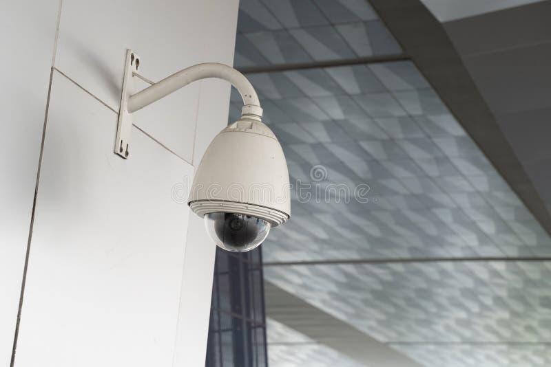 κάμερα δημόσιας ασφάλειας 360 μοίρες με απομακρυσμένη λειτουργία στοκ εικόνες