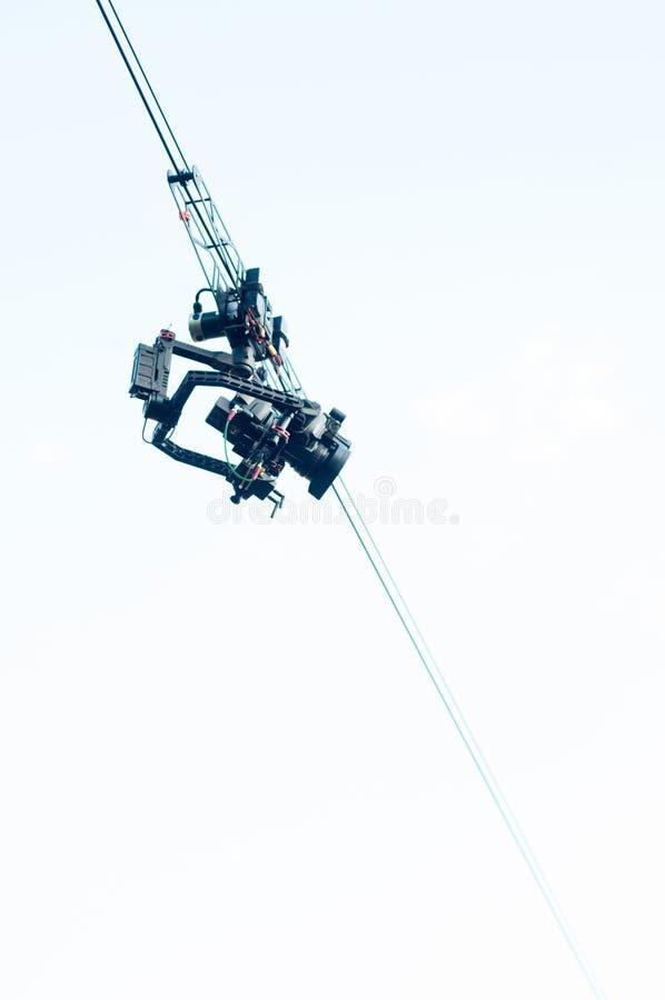 Κάμερα καλωδίων στοκ φωτογραφία με δικαίωμα ελεύθερης χρήσης
