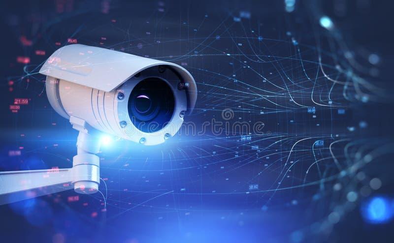 Κάμερα οδών επιτήρησης και διεπαφή δικτύων απεικόνιση αποθεμάτων