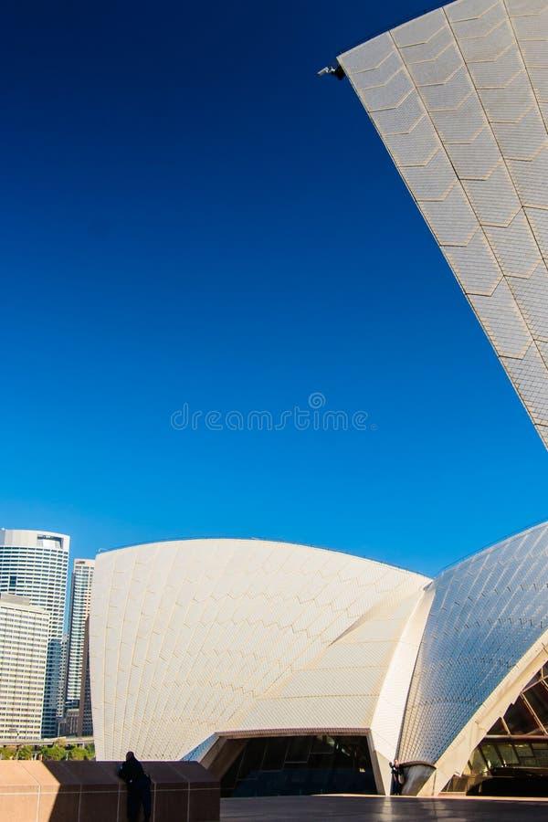 Κάμερα παρακολούθησης στη Όπερα του Σίδνεϊ στοκ φωτογραφίες με δικαίωμα ελεύθερης χρήσης
