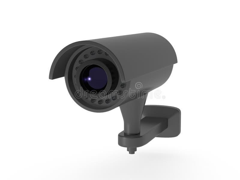 Κάμερα παρακολούθησης ελεύθερη απεικόνιση δικαιώματος