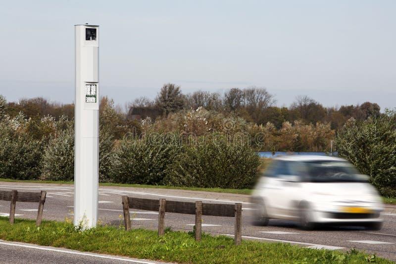 Κάμερα ταχύτητας οδηγήσεων στοκ εικόνες με δικαίωμα ελεύθερης χρήσης