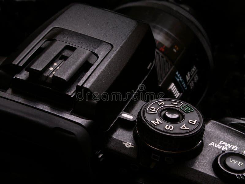 Κάμερα DSLR στοκ εικόνες