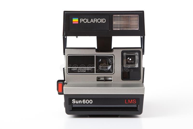 Κάμερα Polaroid Sun600 LMS στοκ φωτογραφία