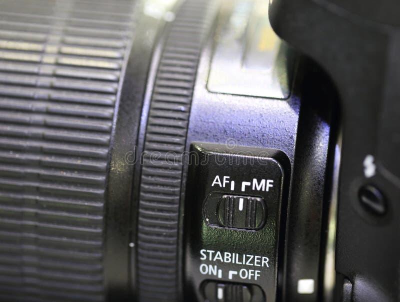 Κάμερες SLR στοκ φωτογραφία με δικαίωμα ελεύθερης χρήσης