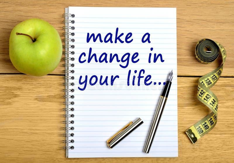 Κάνετε μια αλλαγή στη ζωή σας στοκ φωτογραφίες με δικαίωμα ελεύθερης χρήσης
