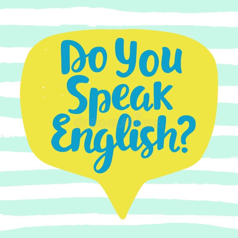 κάνετε τα αγγλικά σας μι&la ελεύθερη απεικόνιση δικαιώματος