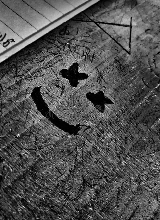 Κάνετε το χαμόγελο δεν βλέπετε ποτέ που στοκ εικόνες