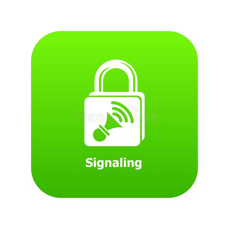 Κάνοντας σήμα πράσινο διάνυσμα εικονιδίων διανυσματική απεικόνιση