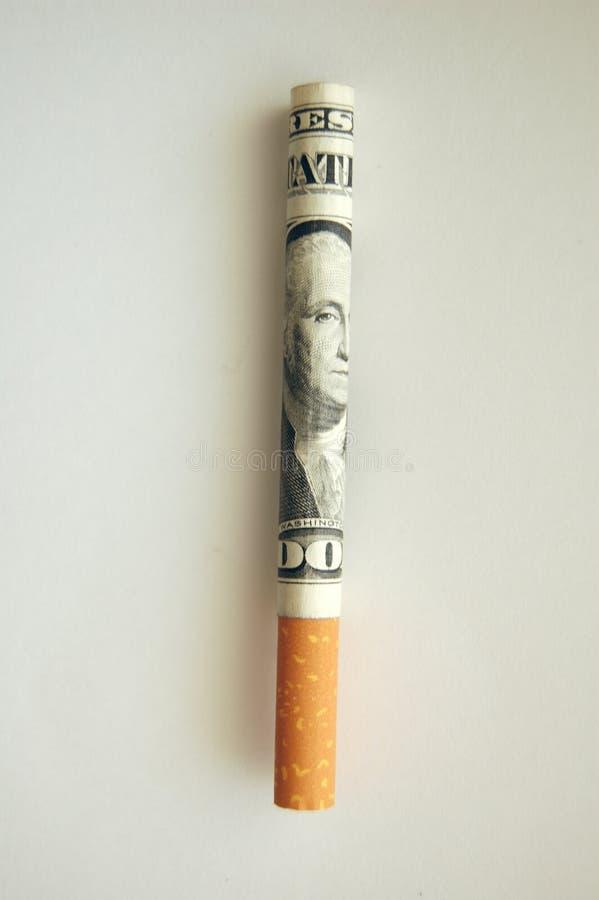 κάπνισμα δαπανών στοκ εικόνες