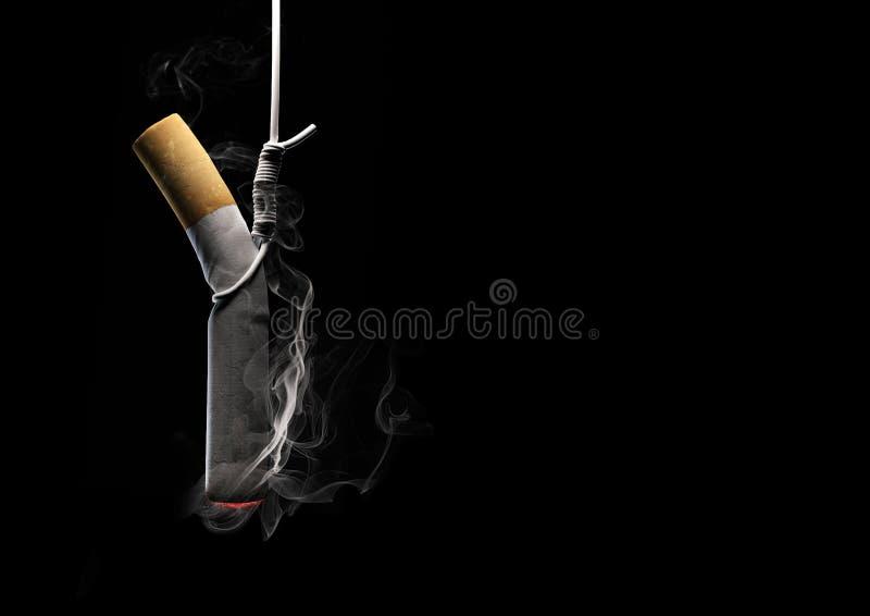 κάπνισμα θανατώσεων στοκ φωτογραφία με δικαίωμα ελεύθερης χρήσης