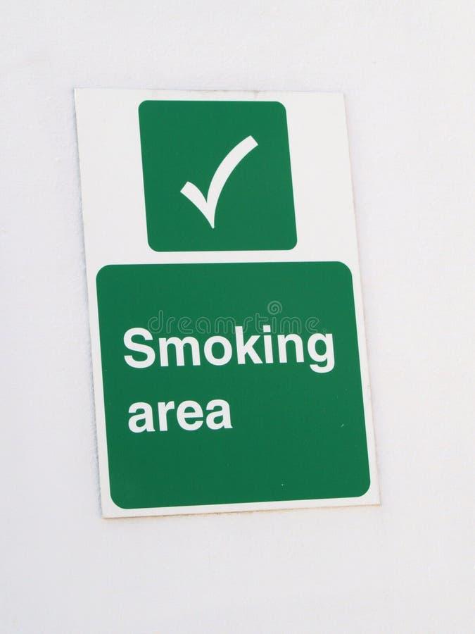 κάπνισμα περιοχής ελεύθερη απεικόνιση δικαιώματος