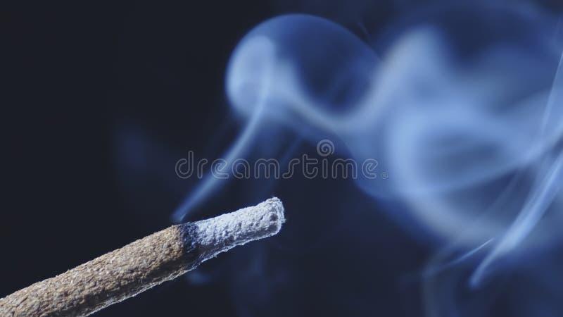 Κάπνισμα ραβδιών θυμιάματος καψίματος στοκ εικόνες με δικαίωμα ελεύθερης χρήσης
