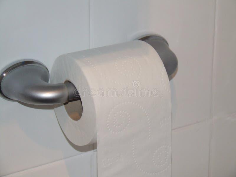 Κάποιος ρόλος τουαλετών στοκ εικόνα