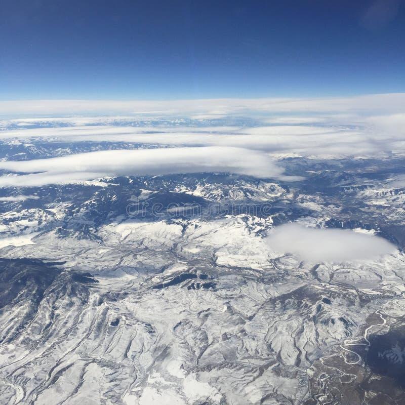 Κάπου πέρα από το Κολοράντο στοκ εικόνες
