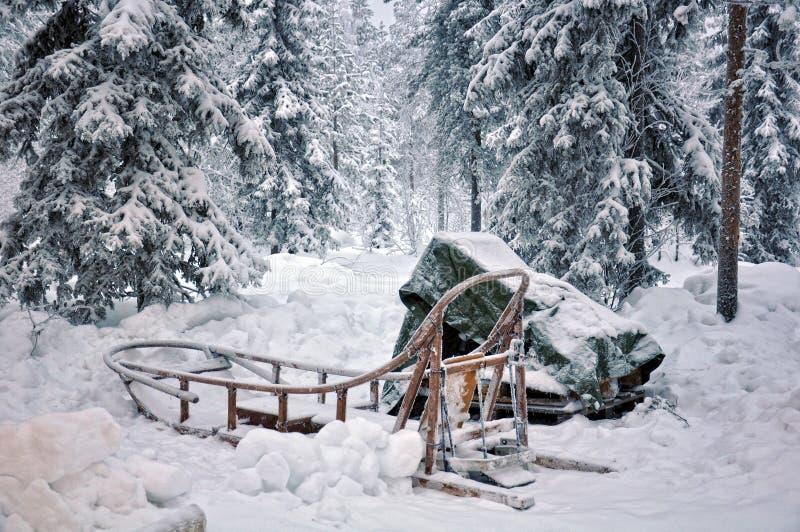 Κάπου στο Lapland στοκ φωτογραφίες
