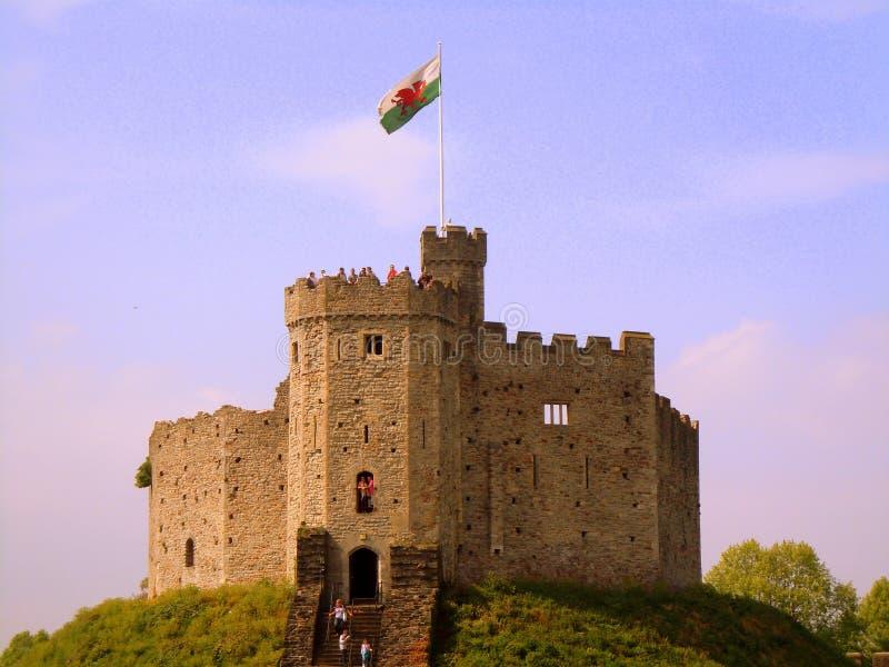 Κάρντιφ Castle στοκ φωτογραφίες