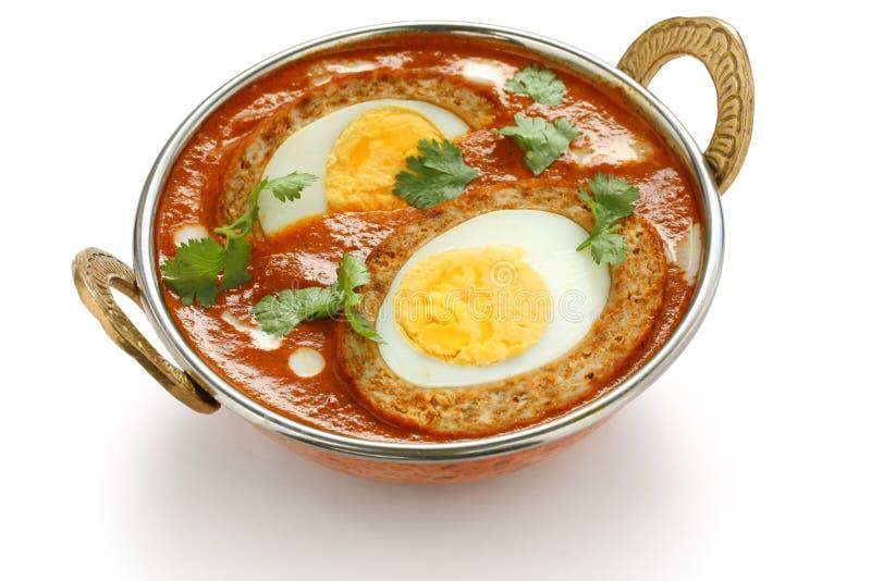 Κάρρυ kofta Nargisi, ινδική κουζίνα στοκ φωτογραφία με δικαίωμα ελεύθερης χρήσης