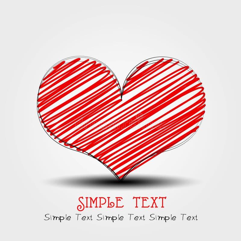 Download κάρτα αγάπης διανυσματική απεικόνιση. εικονογραφία από εποχή - 22786361