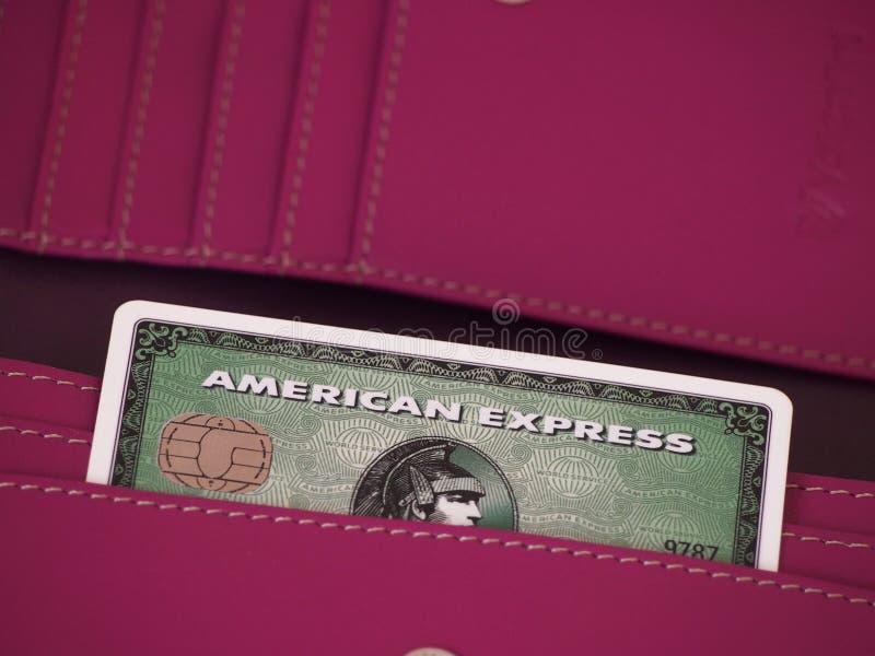 Κάρτα Αmerican Εxpress στοκ εικόνες