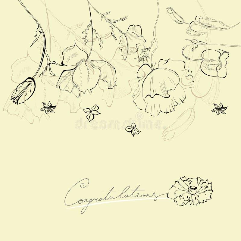 Download κάρτα διακοσμητική διανυσματική απεικόνιση. εικονογραφία από doodle - 22781202