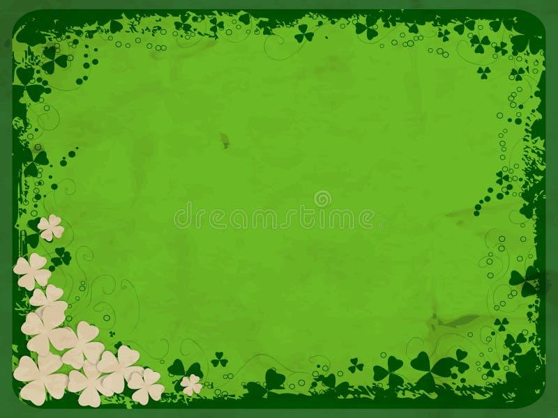 Κάρτα ημέρας του ST Πάτρικ απεικόνιση αποθεμάτων