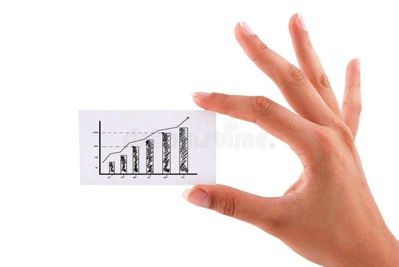 Κάρτα κερδών απεικόνιση αποθεμάτων