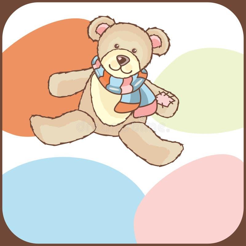κάρτα μωρών άφιξης ανακοίνω&sigma απεικόνιση αποθεμάτων