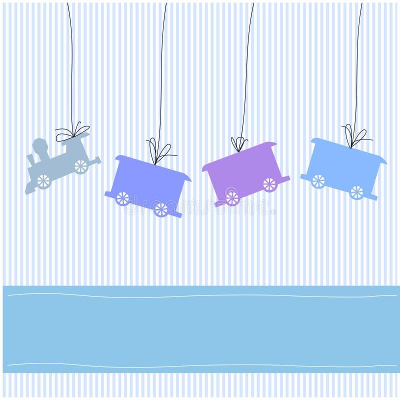κάρτα μωρών απεικόνιση αποθεμάτων