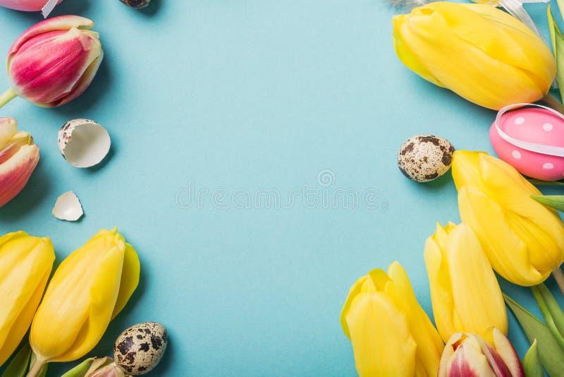 κάρτα Πάσχα ευτυχές στοκ εικόνες με δικαίωμα ελεύθερης χρήσης