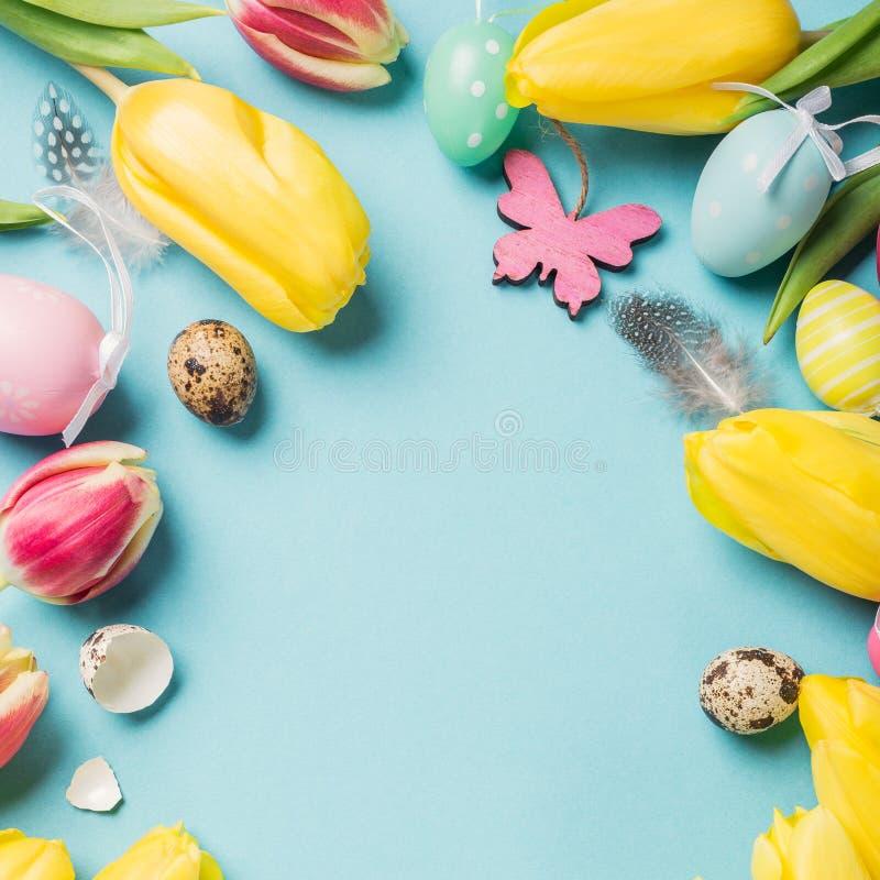 κάρτα Πάσχα ευτυχές στοκ εικόνες