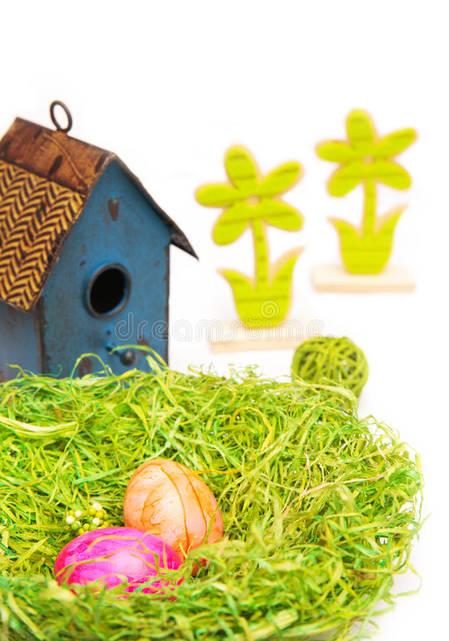 Download κάρτα Πάσχα στοκ εικόνα. εικόνα από πράσινος, childhood - 22785825