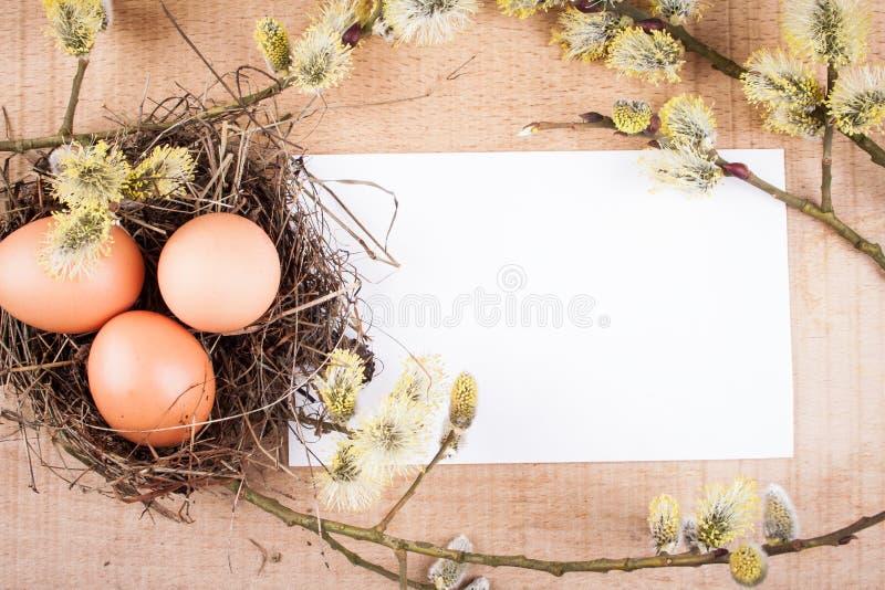 κάρτα Πάσχα στοκ φωτογραφίες