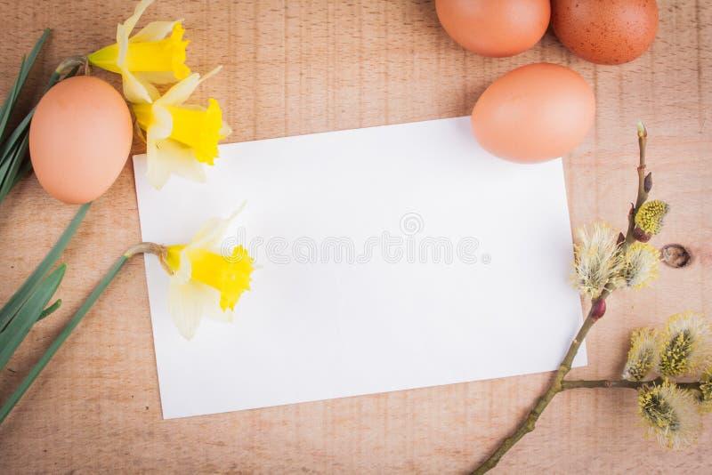 κάρτα Πάσχα στοκ φωτογραφία με δικαίωμα ελεύθερης χρήσης