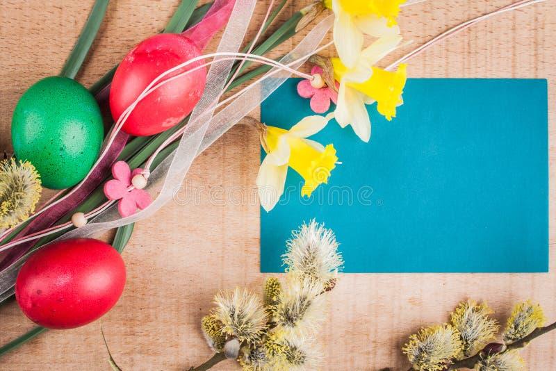κάρτα Πάσχα στοκ φωτογραφίες με δικαίωμα ελεύθερης χρήσης