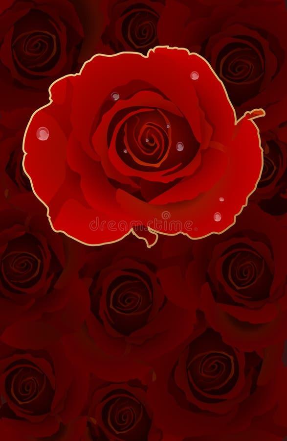 κάρτα πολλά ρομαντικά τρια& ελεύθερη απεικόνιση δικαιώματος