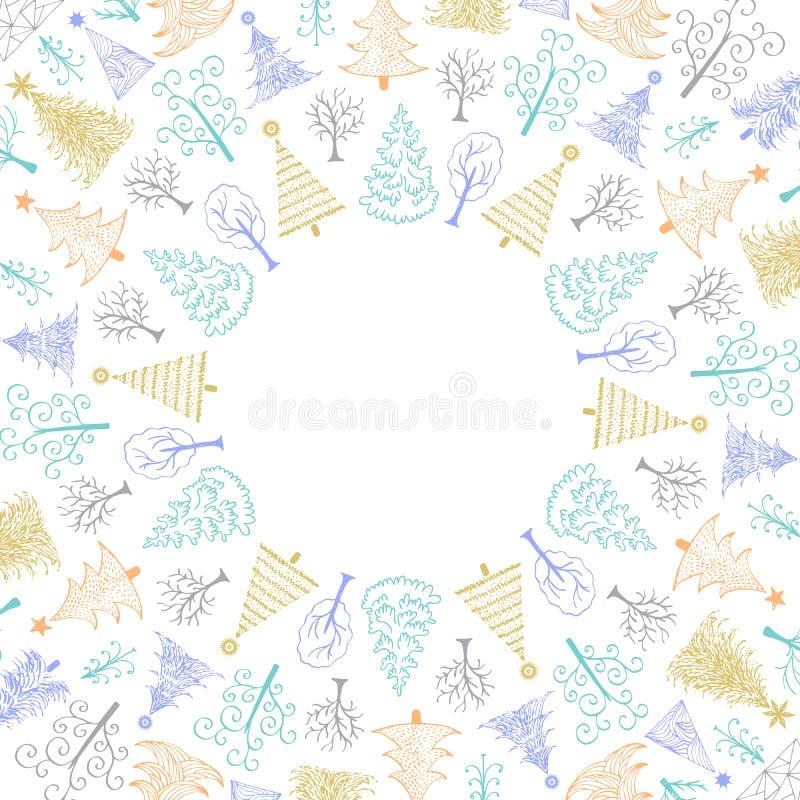 Κάρτα πρόσκλησης Χριστουγέννων ελεύθερη απεικόνιση δικαιώματος