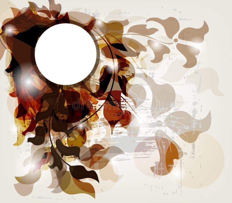 Download Κάρτα πρόσκλησης Grunge με το διάστημα για το κείμενο Διανυσματική απεικόνιση - εικονογραφία από πλαίσιο, διακοσμημένος: 22783858