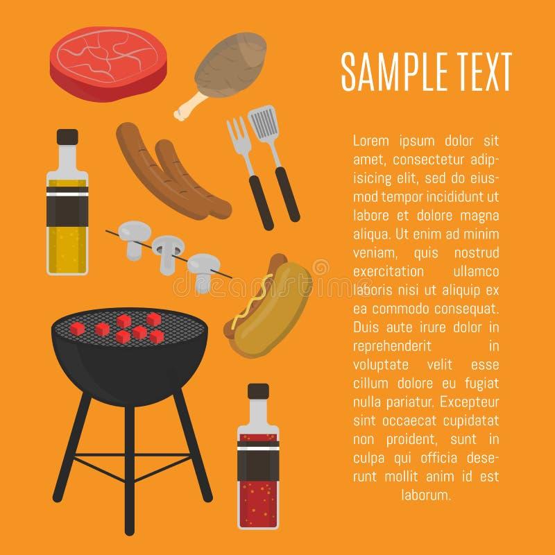 Κάρτα σχαρών σχαρών, πρότυπο σχεδίου απεικόνιση αποθεμάτων