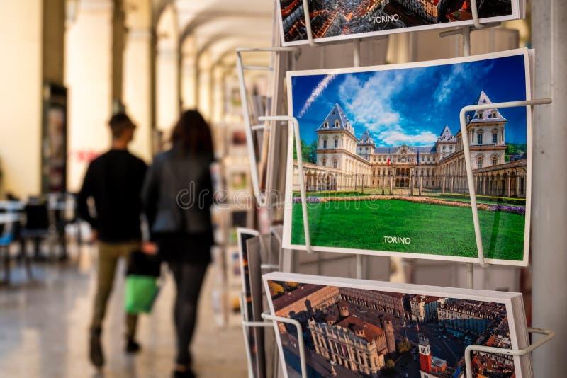 Κάρτα του Τορίνου στοκ εικόνες
