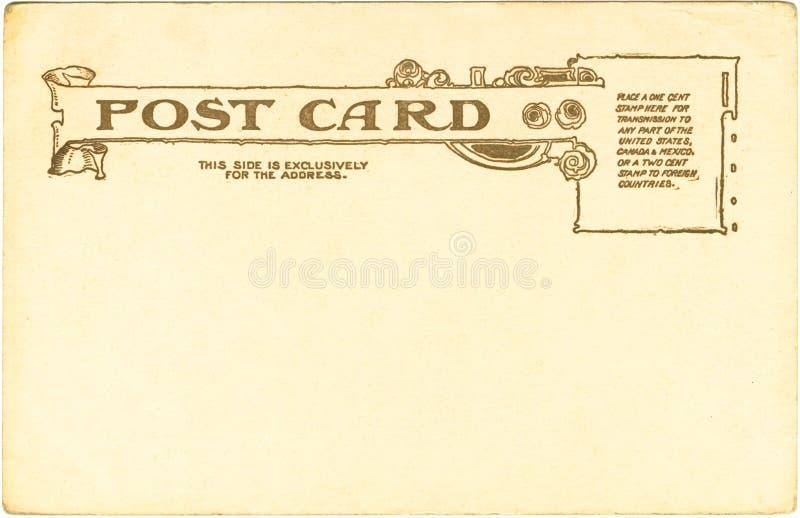 κάρτα του 1905 στοκ φωτογραφία με δικαίωμα ελεύθερης χρήσης