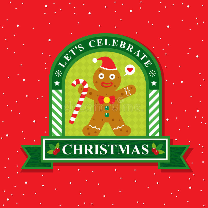 Download Κάρτα Χριστουγέννων με το ψωμί πιπεροριζών Διανυσματική απεικόνιση - εικονογραφία από συλλογή, σχέδιο: 62713273