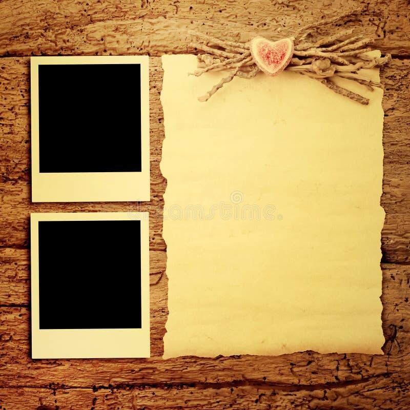 Κάρτες για την ημέρα ή το γάμο του βαλεντίνου στοκ φωτογραφία