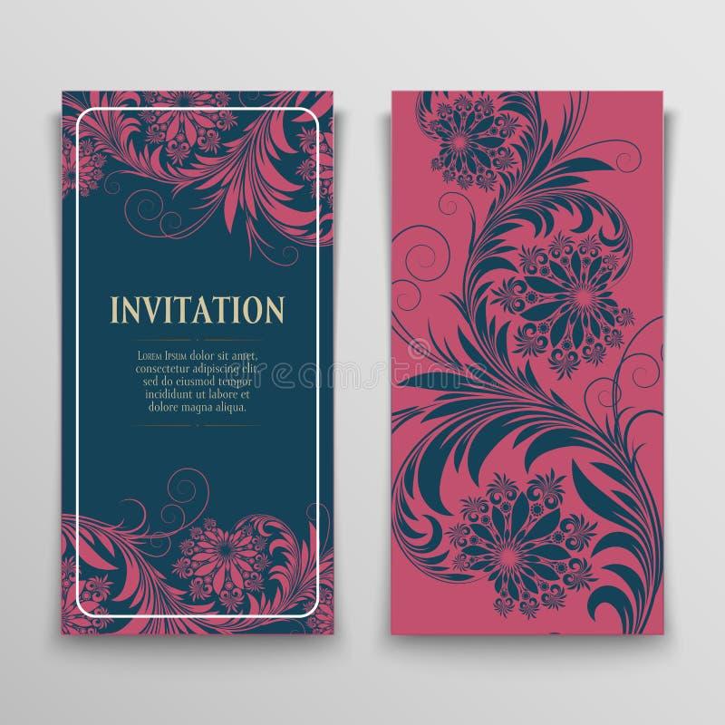 κάρτες που χαιρετούν το &sig διανυσματική απεικόνιση