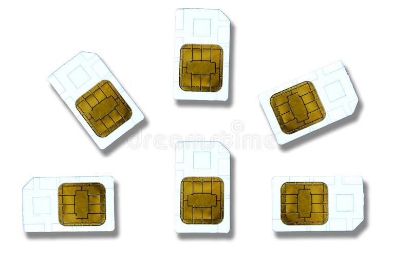 κάρτες sim απεικόνιση αποθεμάτων