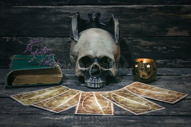 κάρτες tarot στοκ εικόνα με δικαίωμα ελεύθερης χρήσης