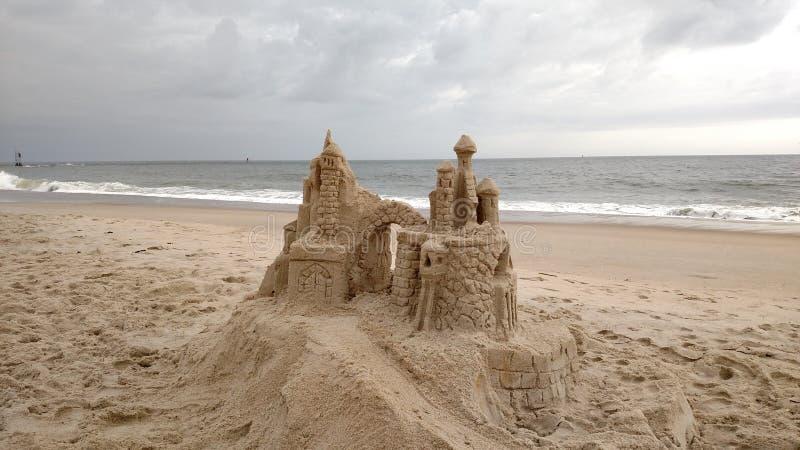 Κάστρα στην άμμο στοκ εικόνα με δικαίωμα ελεύθερης χρήσης