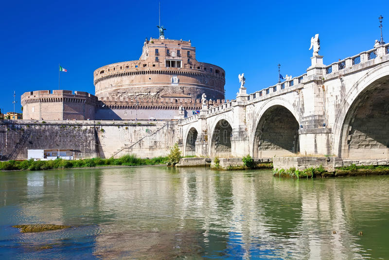 Κάστρο αγγέλου Αγίου στοκ φωτογραφία με δικαίωμα ελεύθερης χρήσης