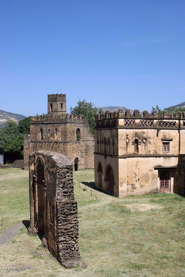 κάστρο Αιθιοπία στοκ εικόνες